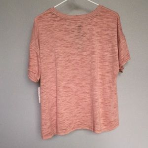 Free People Tops - NWT Free People 'We The Free Jordan Tee' Mink Pink